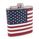 American Flag Flask, TRUE3083
