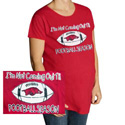 Not Coming Out Until Football Season Maternity Shirt