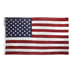American Flag with Embroidered Stars & Sewn Stripes, US35C