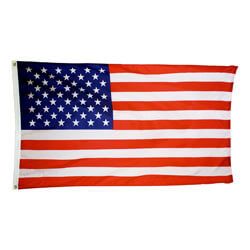 American Flag with Printed Stars & Stripes, US35P