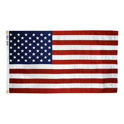 Annin Tough-Tex American Flag with Embroidered Stars & Sewn Stripes, US35T