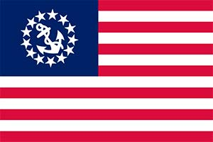 United States Yacht Ensign by FlagandBanner.com