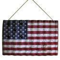 American Flag Wall Hanging with Magnetic Stars, WILC5502