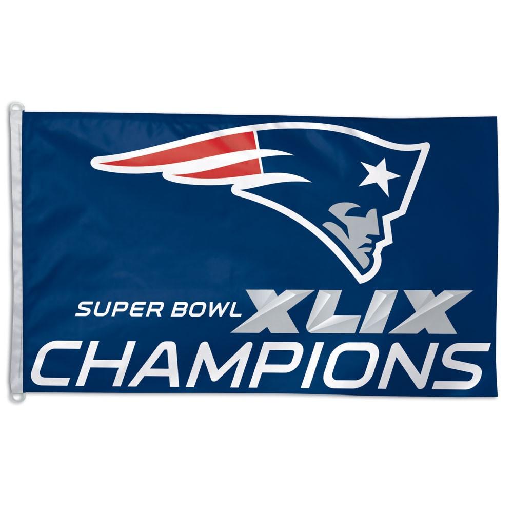 New England Patriots Super Bowl Xlix Champions Flag