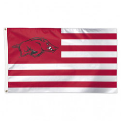 Arkansas Razorback Stars & Stripes Flag, WINC03646115