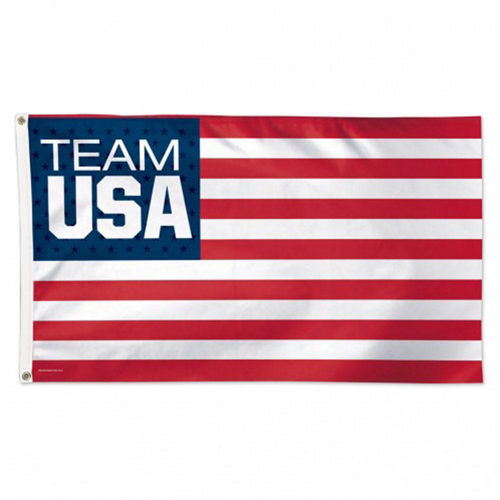 Usoc Olympic Rings Flag