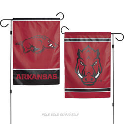 University of Arkansas Razorbacks 2-Sided Garden Banner, WINC16106017G