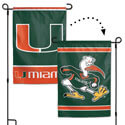 University of Miami Hurricanes 2-Sided Garden Banner, WINC16109017G