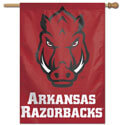 University of Arkansas Razorbacks Hog Face House Banner, WINC24622117H