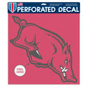 Razorback Perfect Cut Color Decal (4 in x 4 in)