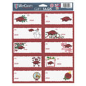Arkansas Razorback Gift Tag Sheet of 10, WINC75524012
