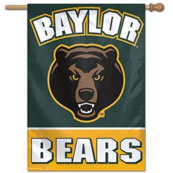 Baylor University Bears House Banner, WINC81745017H