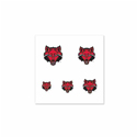 Red Wolves Fingernails Tattoos, WINC83960012