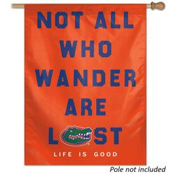 University of Florida Gators Life Is Good House Banner, WINC95030216H