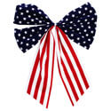 Outdoor American Flag Bow, A247934