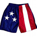American Flag Youth Shorts