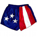 Patriotic Flag Jogging Shorts