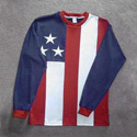 American Flag Long Sleeved Shirt