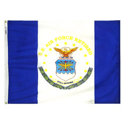 Air Force Retired Flag, AAIRF34NF