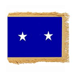 Air Force Major General flag with Pole Hem and Fringe, AAIRFSTAR258PHF