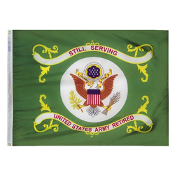 Army Retired flag, AARMY34