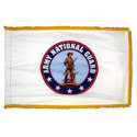 Army National Guard Fringed Flag with Pole Hem, AARNG35PHF