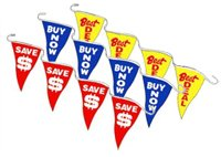 sports pennants, pennant strings, pennants banners
