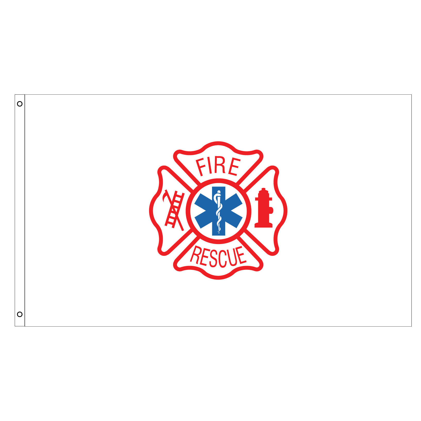 Fire rescue flag, AFIRERESCUE35