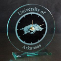 Arkansas Razorback Large Round Clock