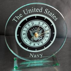 Navy Large Round Clock, AGL7048NAV