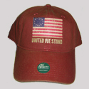 United We Stand Old Favorite Cap in Red, AHAT273150R