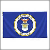 Air Force Outdoor Flags & Kits