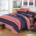 American Flag Themed Bedding Set, ALIXUSABEDT