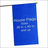 Decorative House Flags and Banners