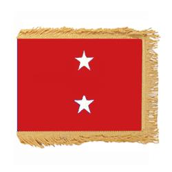 Marine Corps Major General Fringed Flag with Pole Hem, AMARISTAR223PHF