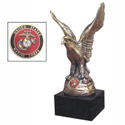 Eagle with US Marine Seal, ANN1008551