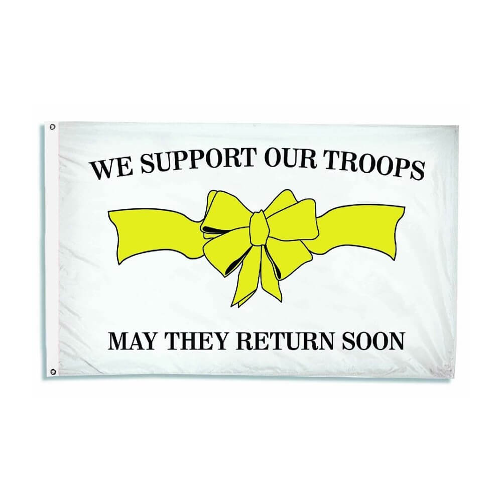 Support Our Troops flag, ANNSUPPORT
