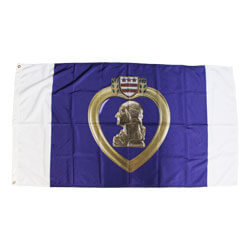 Purple Heart Flag,APURHEART35