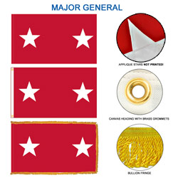 Army Major General Flags, FBPP0000009601