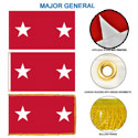 Army Major General Flags