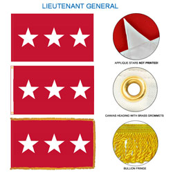 Army Lieutenant General Flags, FBPP0000009593