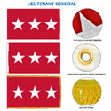 Army Lieutenant General Flags