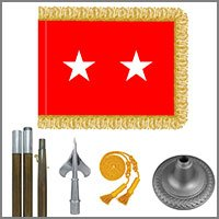 Army General Flags & Kits