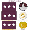 Army Medical Lieutenant General Flags