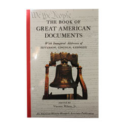 Book of Great American Documents ASG37021