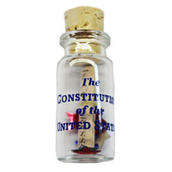 Constitution in a Bottle ASG71434
