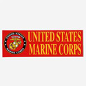 United State Marine Corps Bumpersticker, AWBM013