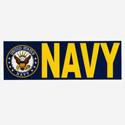 Navy Bumpersticker, AWBM029