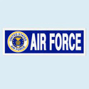 Air Force Bumpersticker, AWBM030