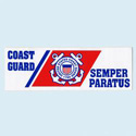 Coast Guard Bumpersticker, AWBM074